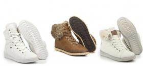 Как выбрать высокие женские зимние кроссовки на меху?