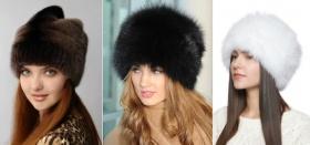 В каких интернет-магазинах можно купить меховую женскую шапку?
