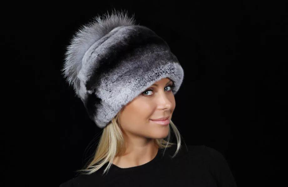 Женские зимние шапки своими руками