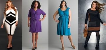 Как трикотажное платье может помочь женщине с лишним весом почувствовать себя по-настоящему привлекательной?