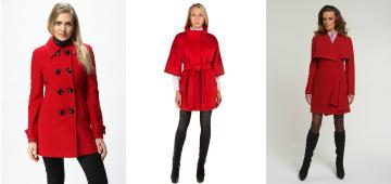 С чем можно носить красное пальто: рекомендации стилистов