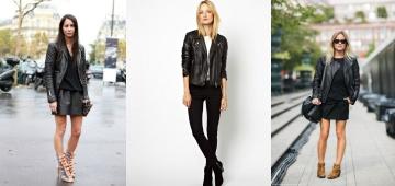 Женская кожаная куртка косуха: какую выбрать, с чем носить, где купить?