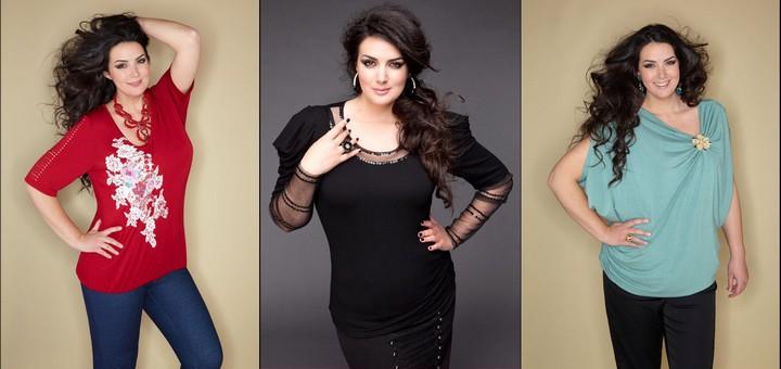 лучшие виды блузок для полных девушек и женщин