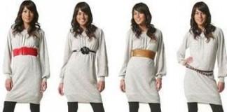 трикотажное платье с длинным рукавом - как выбрать, цена, отзывы