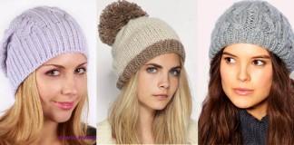 вязаные женские шапки на зиму - сколько стоят, где покупать, с чем сочетаются