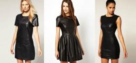 В каком интернет-магазине можно купить стильное кожаное платье?