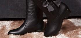 Женские кожаные осенние сапоги (Италия): как выгодно купить на распродаже?