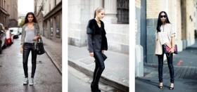 С чем можно носить кожаные брюки: предмет гардероба для ярких девушек