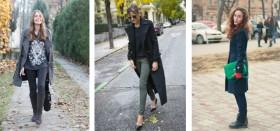 С какой обувью правильно носить пальто: лучшие сочетания и примеры