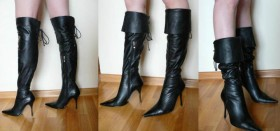 Ботфорты на полную ногу: покупаем недорого в интернет-магазине