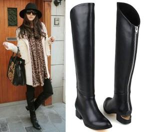 Где можно купить качественные и красивые женские осенние кожаные сапоги?