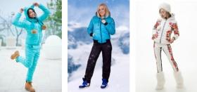 Где можно купить красивые и недорогие теплые зимние женские спортивные костюмы?