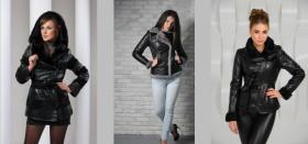 Как выбрать модную утепленную кожаную женскую куртку?
