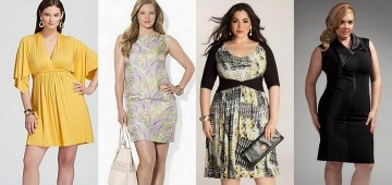 Самая стильная и красивая одежда для женщин с полнотой