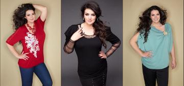 Самые интересные варианты блузок для женщин с лишним весом