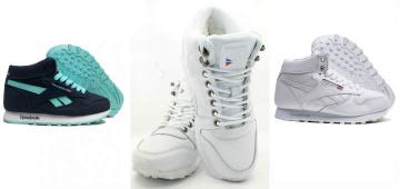 Выбираем женские зимние кроссовки от фирмы Рибок